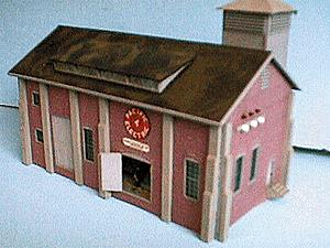 Alpine Division Scale Models 66 Elec Power substation PE