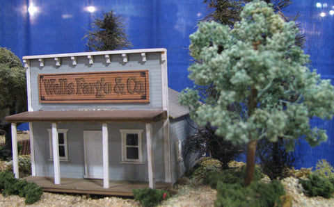Alpine Division Scale Models 86 Wells Fargo & Co station