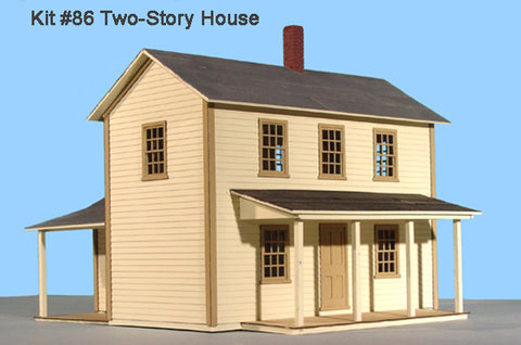 American Model Builders 486 O Two Story House
