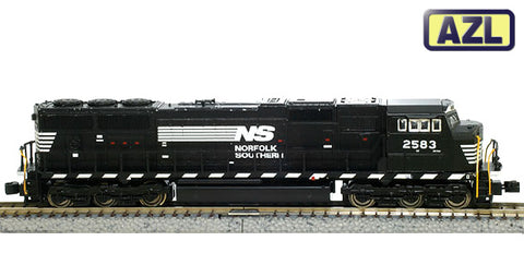 American Z-Line 6101-1 Z Scale Norfolk Southern SD70M Powered Diesel Locomotive #2583