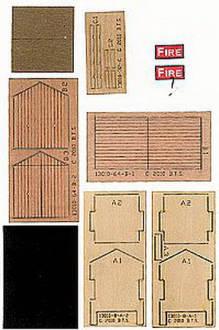 B.T.S. 13010 O Fire Hose Storage Shed Kit