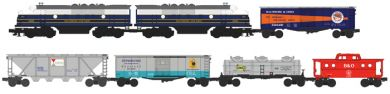Williams 00305 O Baltimore & Ohio Timesaver Fast Freight Train