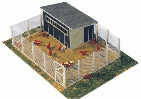 Berkshire Valley 464 O Fence & Chickens Chicken Coop kit