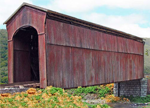 Branchline 672 Shoreham Covered Bridge