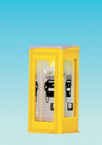 Brawa 4566 N Telephone Booth  Illuminated