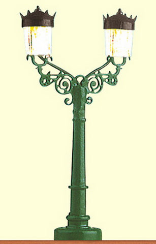 Brawa 4823 Streetlamp-Baden Baden Double Arm