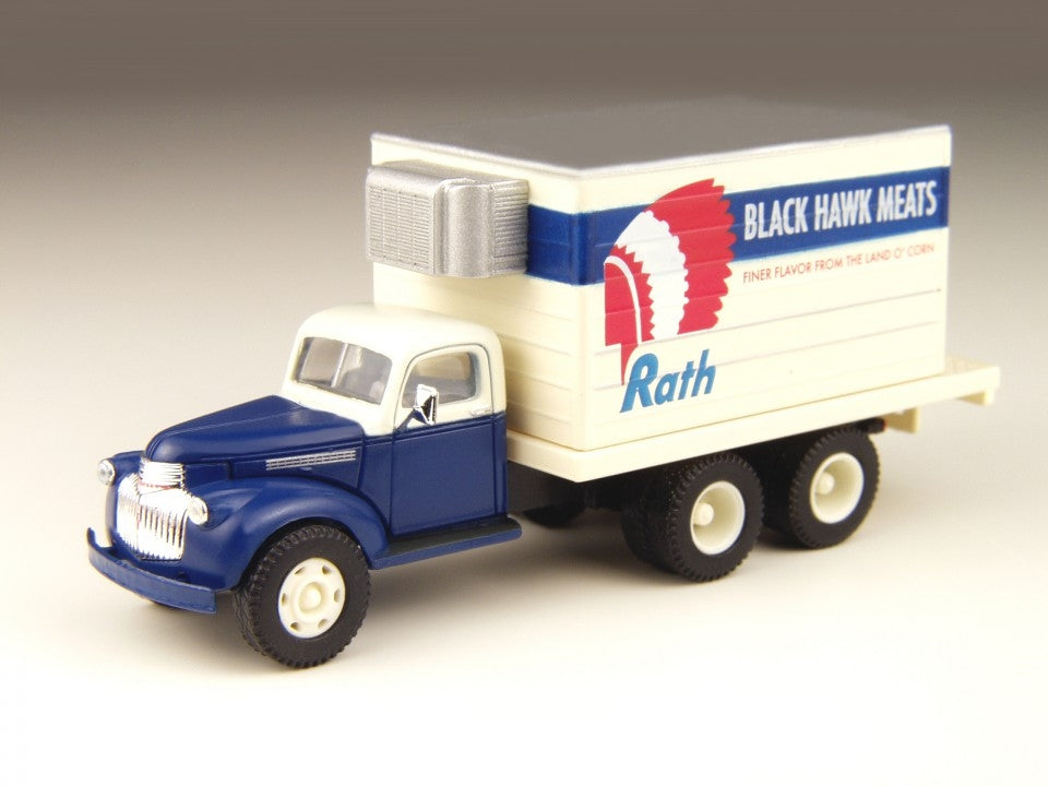 Classic Metal Works 30298 HO Mini Metals '41/46 Rath Meal Chevrolet Reefer Truck