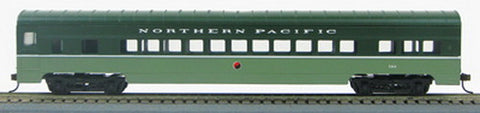 Con-Cor 190019 HO Northern Pacific 72' Smooth-Side Coach Car