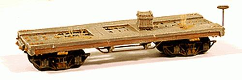Durango Press 53 HO Westside Lumber Co. Flat Car Kit