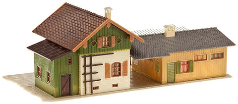 Faller 110092 HO Small Country Station Building Kit
