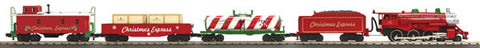 MTH 30-4207-1  Christmas Steam Freight Train Set w/ Proto-Sound 2.0