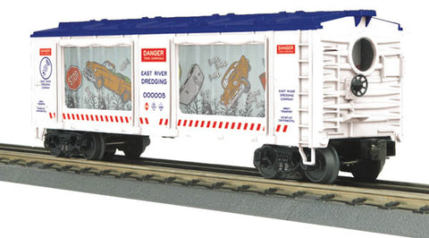 MTH 30-79319 O East River Dredging Operating Action Car