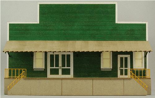 GCLaser 19016 HO Produce Packing Flat Background Building D Kit