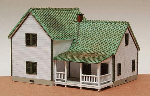 GCLaser 346 N Scale Farm House Plywood Kit