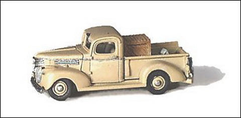 GHQ 57007 N 1941 Chev PickUp Truck Pewter Kit Unpainted