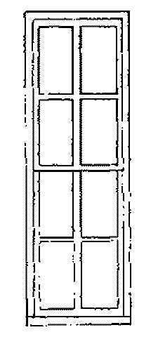 "Grandt Line 3730 O 29"" x 90"" Masonry Buildings Double Hung Window (Pack of 4)"