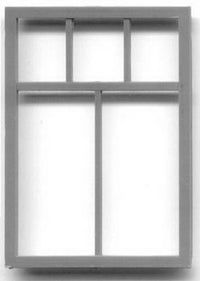 Grandt Line 3770 O 56? x  82? Single Sash-5-Light Commercial Window (Pack of 2)