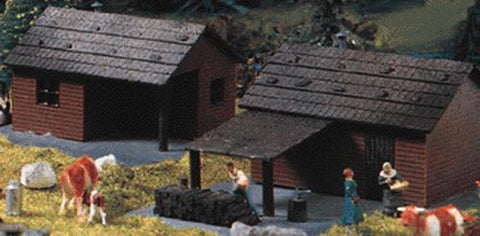 Heljan 1792 Cottage - Kit pkg(2)