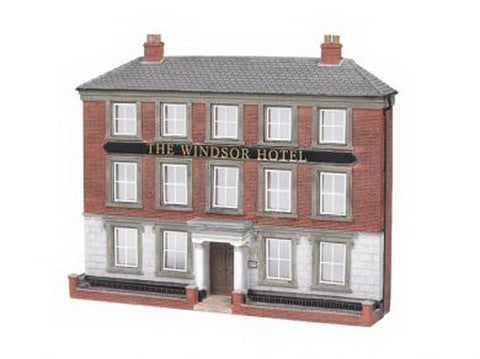 Bachmann 35002 HO Windsor Hotel Thin Profile Building (Assembled)