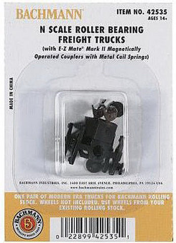 Bachmann 42535 N Roller Bearing Freight Trucks Less Wheels (1)