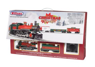 Williams 00323 O Christmas Train Set - RTR