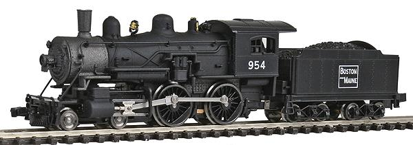 Model Power 87622 N Boston & Maine 4-4-0 American Steam #954 w/Standard DC