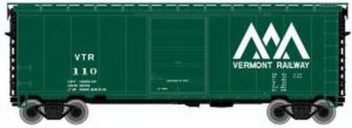 Atlas 50001161 N 40' PS-1 Boxcar Vermont Railway #128