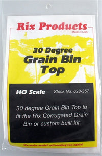 Rix Products 628-0357 Grain Bin with 30 Degree Top