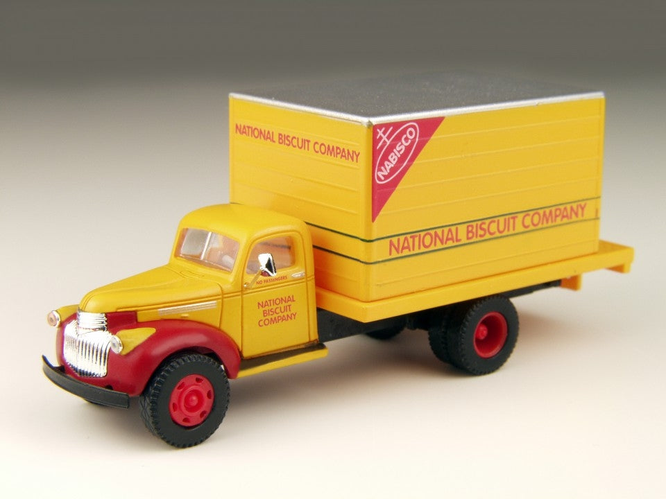 Classic Metal Works 30299 HO Mini Metals Nabisco Chevrolet Box Delivery Truck