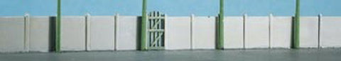 Ratio 219 N SR Concrete Fencing, Gates