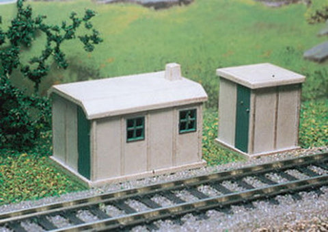 Ratio 238 N Concrete Huts