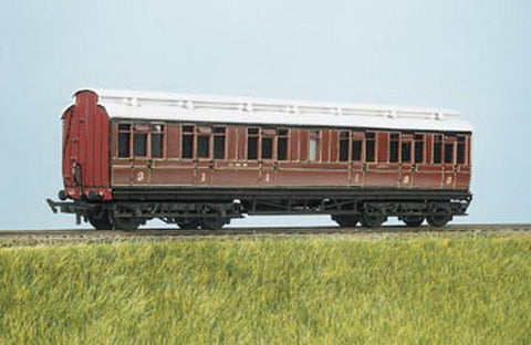 Ratio 722 OO LMS (Midland Express) Clerestory Coach Kit