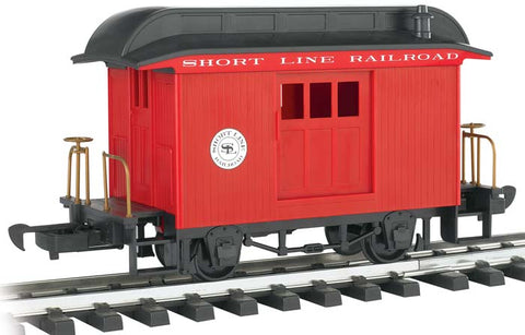 Bachmann 97088 G Short Line Baggage Car Red