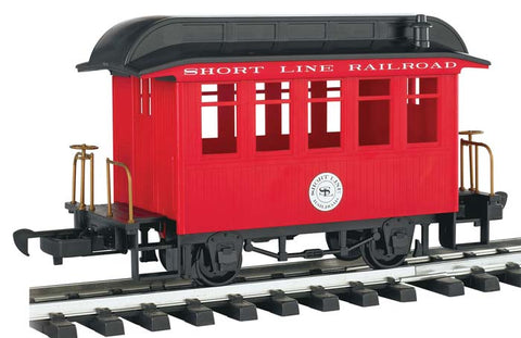 Bachmann 97089 G Short Line Coach Car Red