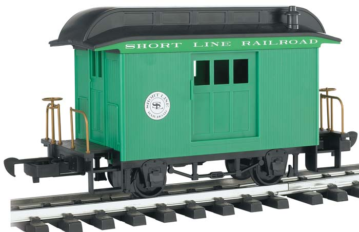 Bachmann 97092 G Short Line Baggage Car Green