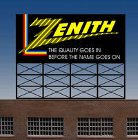 Miller Engineering 440452 N/HO Zenith Animated Billboard