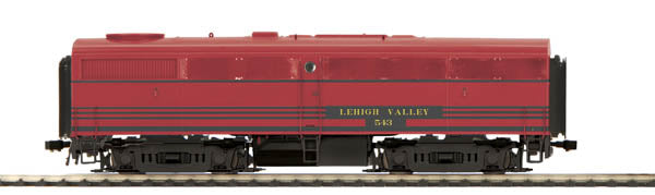MTH 80-2100-0 HO Lehigh Valley ALCO FB-1 Unit Diesel Locomotive DCC Ready #543