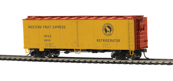 MTH 85-78033 Western Fruit Express HO Scale 40' Steel Sided Reefer Car #68310