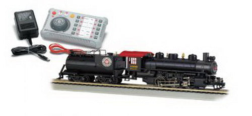 Bachmann 44931 HO Seaboard Air Line 0-6-6 Steam Loco w/DCC & AC Power Supply