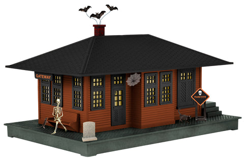 Lionel 6-37998 Halloween Haunted Passenger Station