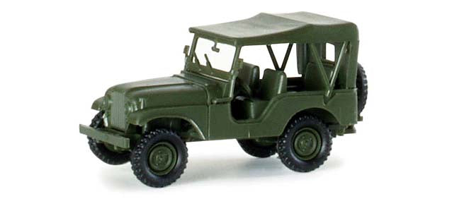 Herpa 741323 Willy's Jeep M38 A1