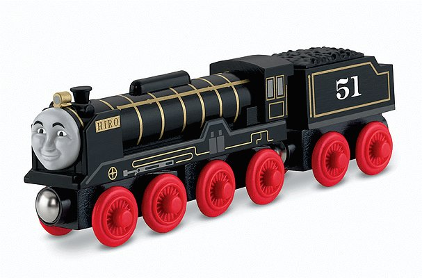 Fisher Price Y4381 Thomas & Friends™ Wooden Railway Hiro the Steam Locomotive