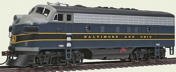 Bachmann 63709 HO Baltimore & Ohio F7A Diesel Locomotive