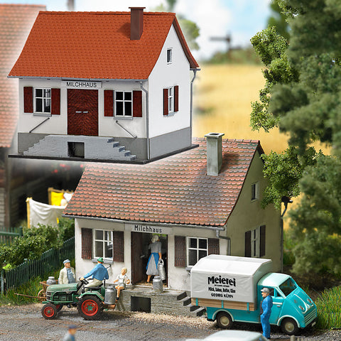 Busch 1510 Milk Collection Depot - Kit (Plastic)