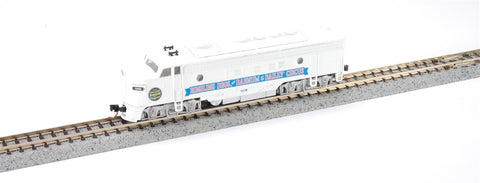 MicroTrains 98500732 N Scale Ringling Bros FP-7 Diesel Locomotive #1889