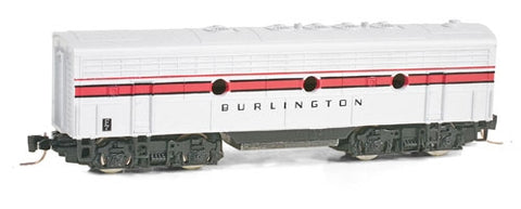 MicroTrains 98012220 Z Chicago, Burlington and Quincy F7B Locomotives