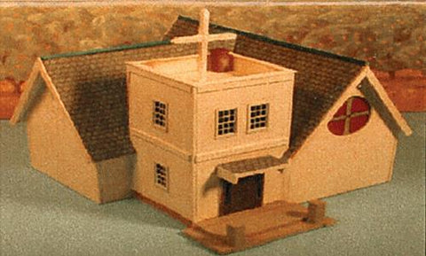 Alpine Division Scale Models 5801 Green River Chapel