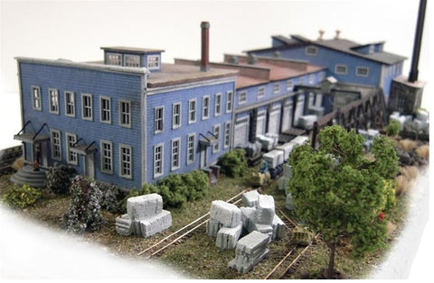 The N Scale Architect 10016 N Burlington Marble & Slate Kit - 14 x 6 x 3 35.6 x 15.2 x 7.6cm