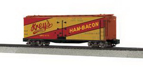 MTH 3578008 S Krey's Ham & Bacon  40' Woodside Reefer #875