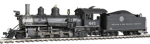 Blackstone Models 310127WS HOn3 Denver & Rio Grande Western K-27 Steam Loco w/Sound/DCC #461